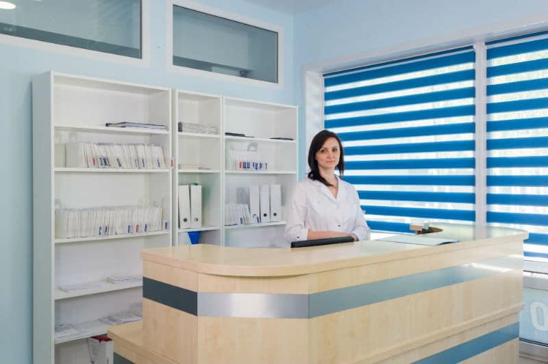 Secrétaire médicale dans un cabinet médical