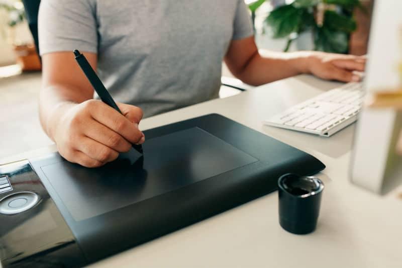 Tablette de dessin numérique