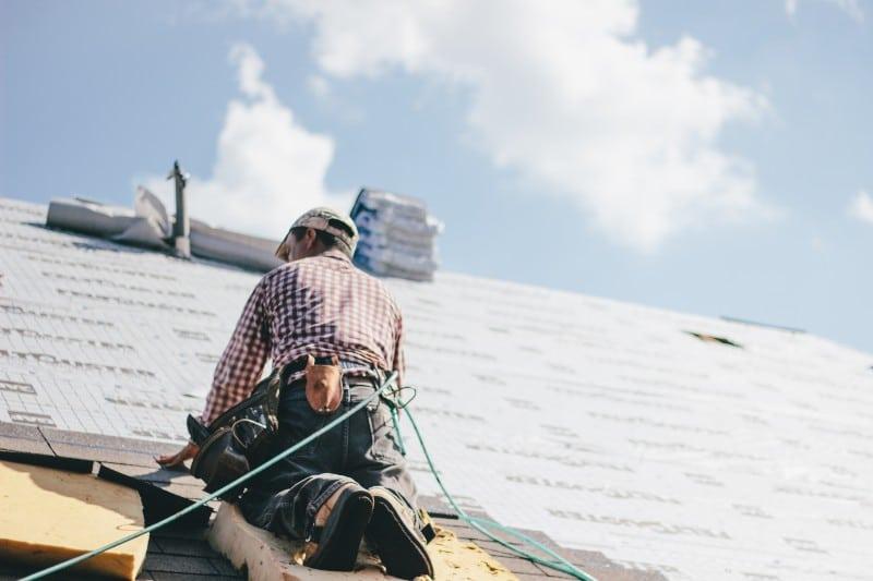 Couverture d'un toit