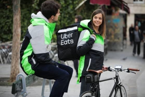 Coursiers Uber Eats
